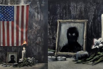 Banksy İrqçiliyə qarşı