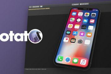 Rotato –  Real 3D mockup yaratmaq üçün bir macOS proqramı.