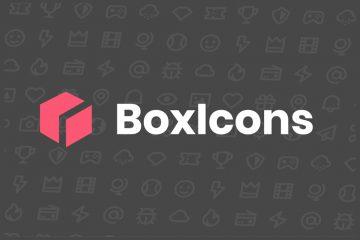 Boxicons – Böyük İkon kolleksiyası