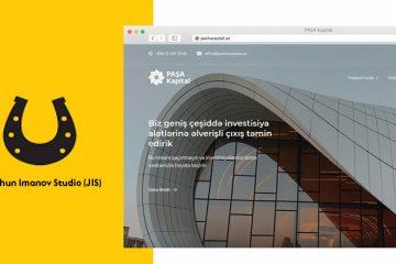 JİS studiyadan Pasha Capital İnvestisiya üçün veb sayt