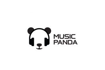 Musiqi Panda radio stansiyası üçün loqo