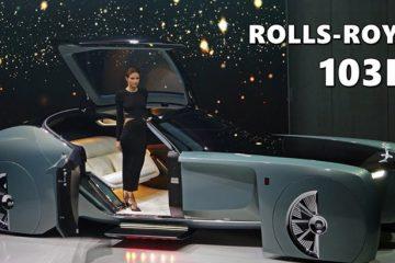 Rolls-Royce 103EX Gələcəyin lüks avtomobili