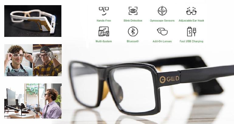 """""""HiiDii Glasses"""" – Komputer mousu əvəz edə bilən ağıllı eynək"""