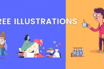 Freeillustrations — Layihələriniz üçün pulsuz illustratorlar
