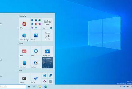 Windows 10 da Start menyusu redesign edildi (Alt+Tab)