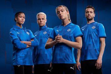 İslandiya milli futbol komandasının yeni loqosu
