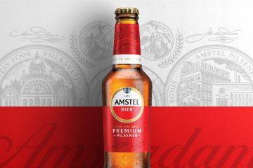 Amstel markası rebranding elədi