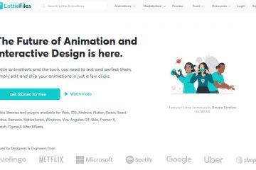 Lottle files – Animasiya ilə çalışmaq üçün gözəl bir platforma