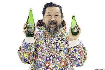 Perrier və Takashi Murakami arasında yeni all-star işbirliyi.